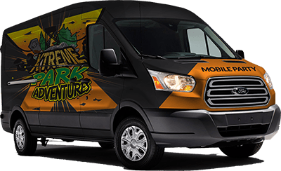 Xtreme Park Adventures Mobile Party Van